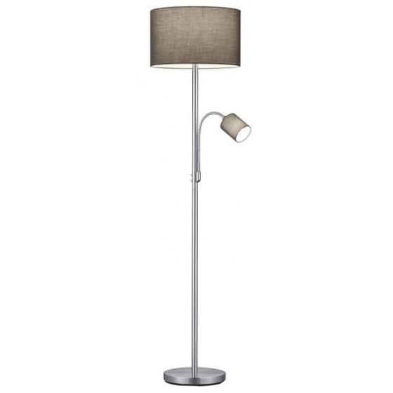 Vloerlamp met leeslamp